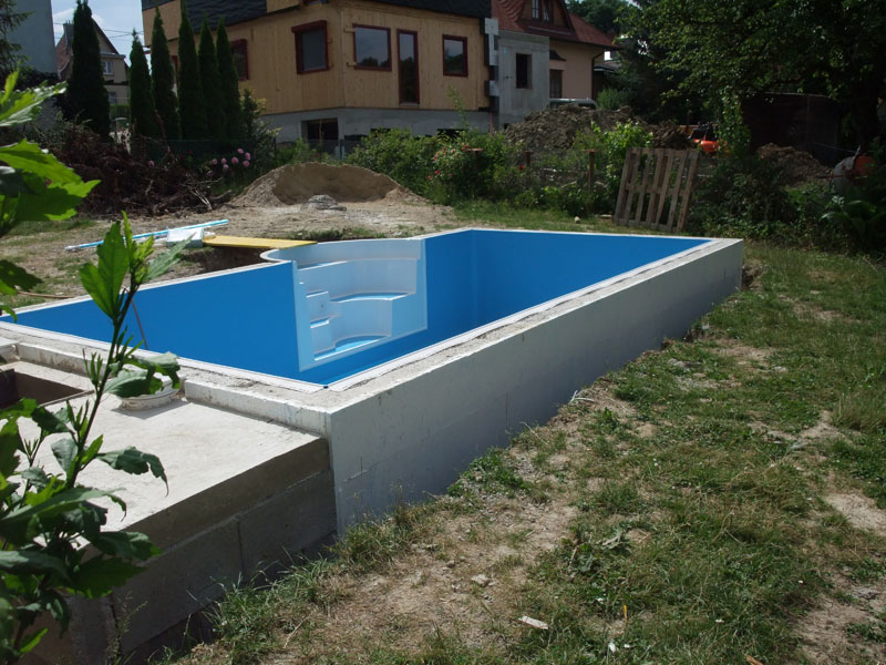 Toms pools and floors for Pool stahlwand
